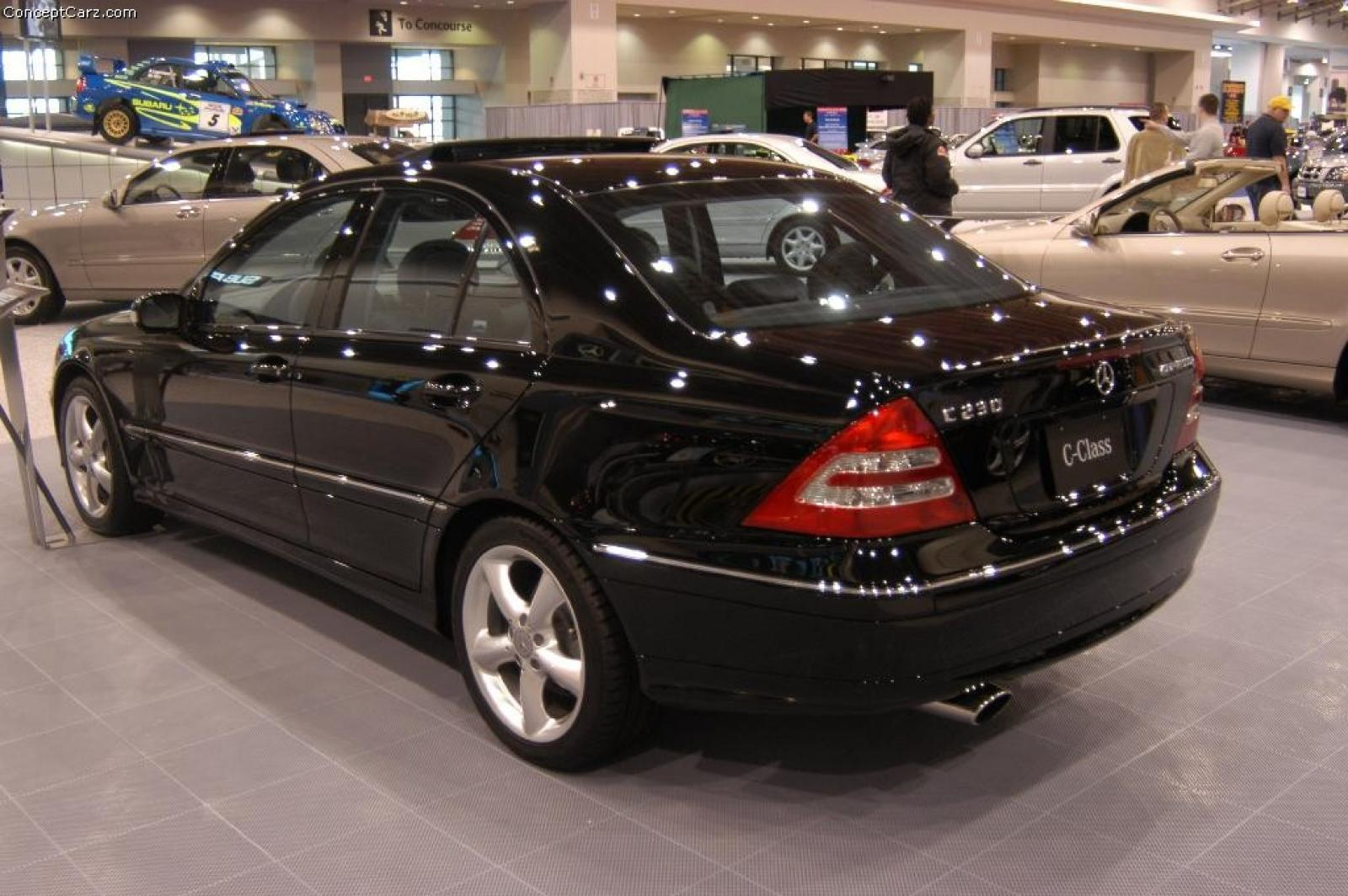 2004 mercedes benz c class information and photos