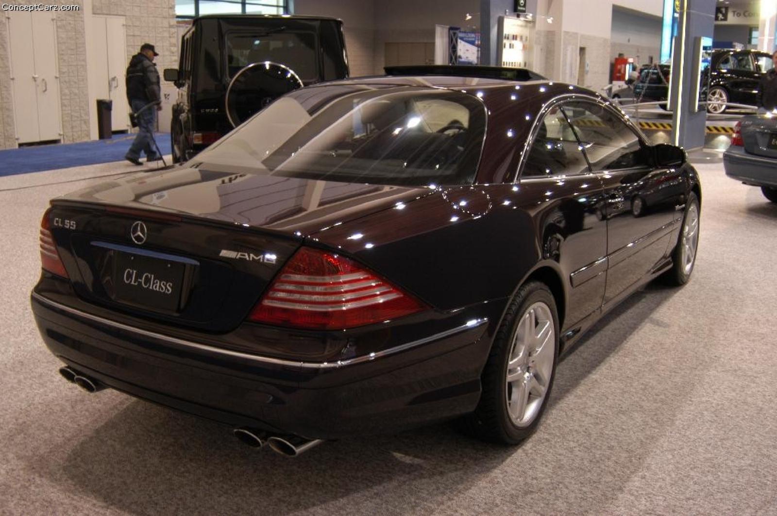 2004 mercedes benz cl class information and photos for Mercedes benz s class 2004