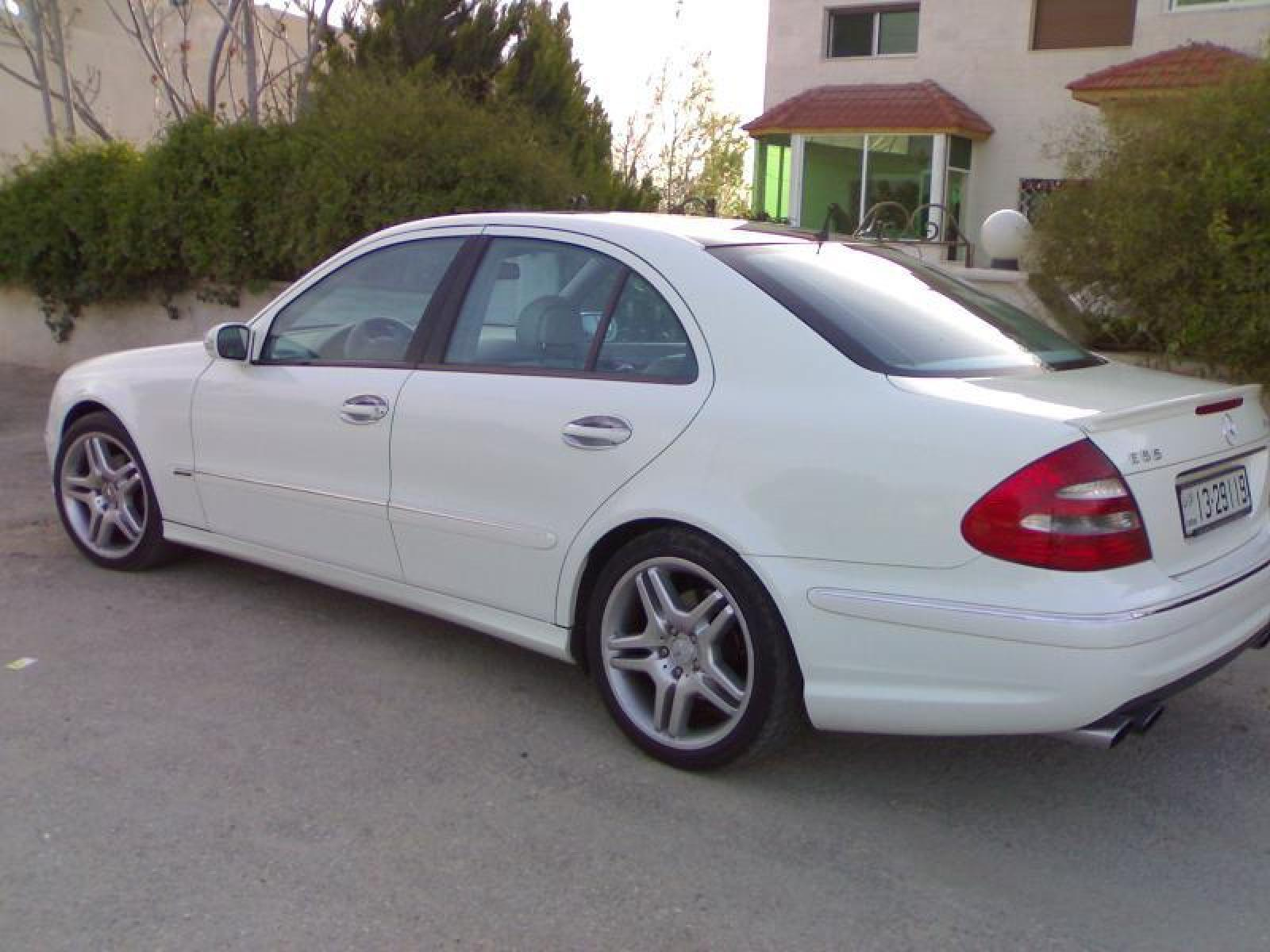 2004 mercedes benz e class information and photos zombiedrive. Black Bedroom Furniture Sets. Home Design Ideas