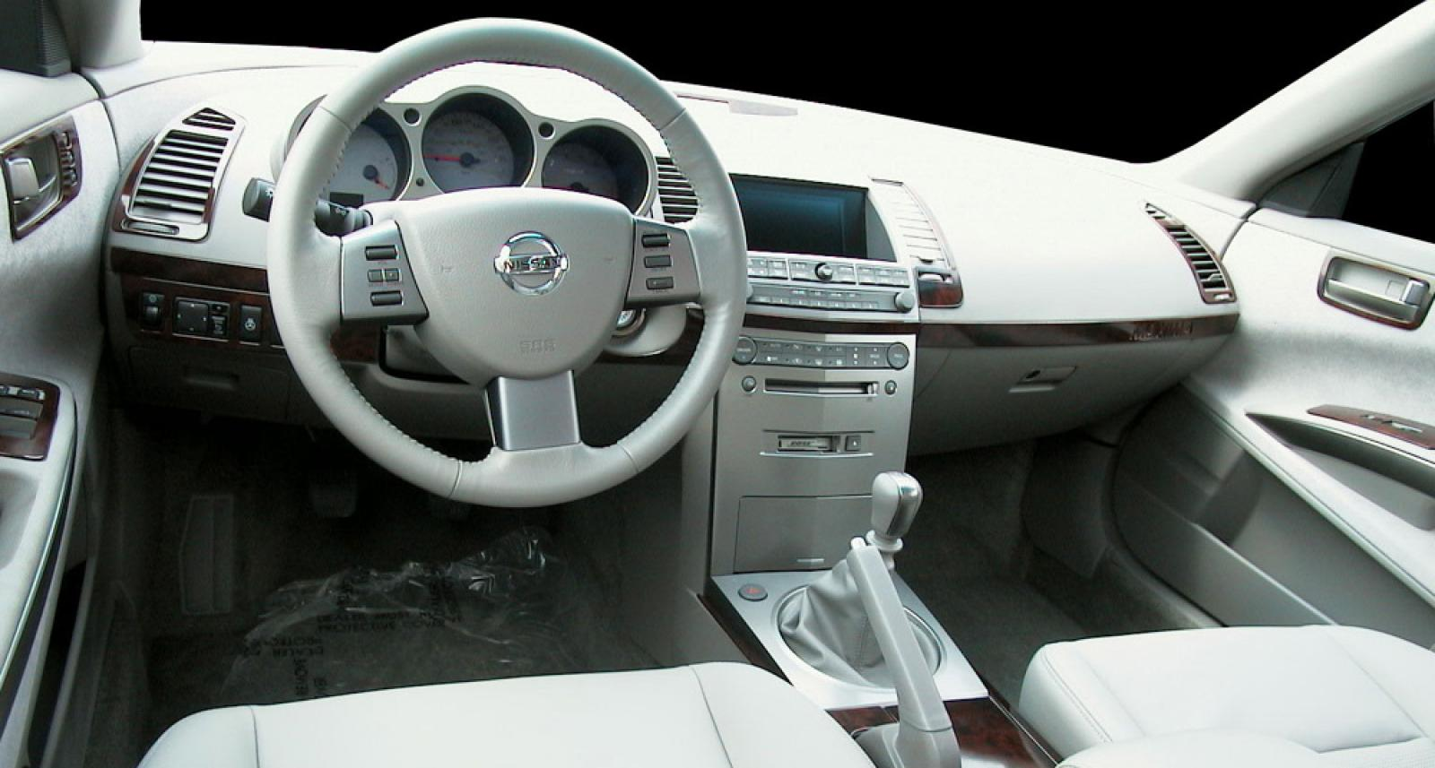nissan maxima 2004 manual transmission