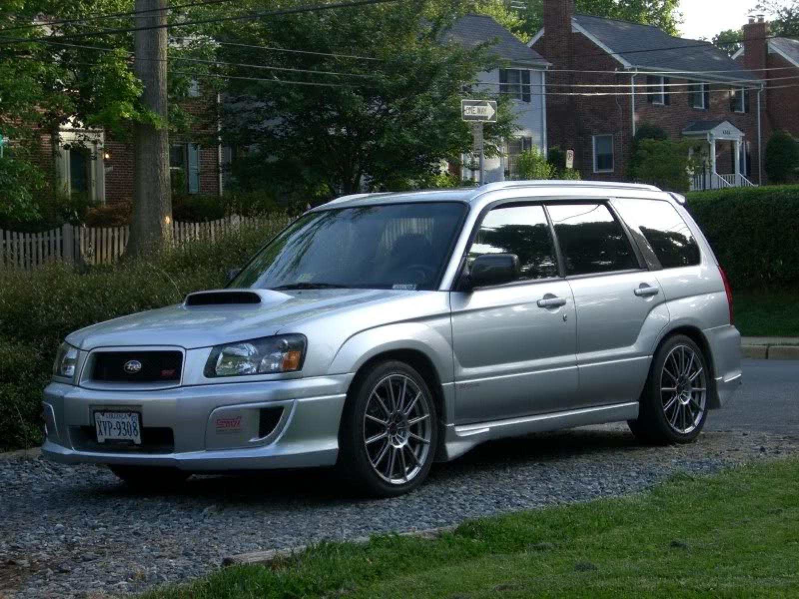 2004 subaru forester information and photos zombiedrive. Black Bedroom Furniture Sets. Home Design Ideas
