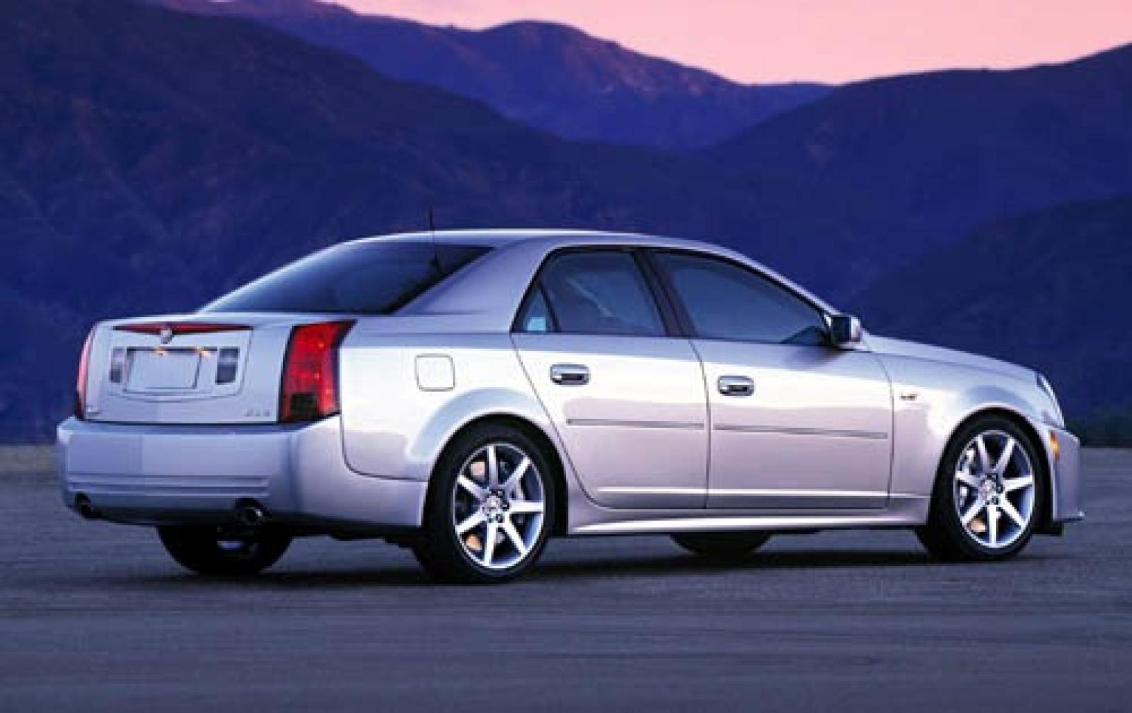 2004 cadillac cts v information and photos zombiedrive. Black Bedroom Furniture Sets. Home Design Ideas