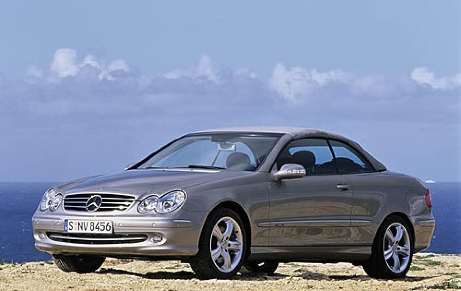 2006 mercedes benz clk class information and photos for Mercedes benz clk 500