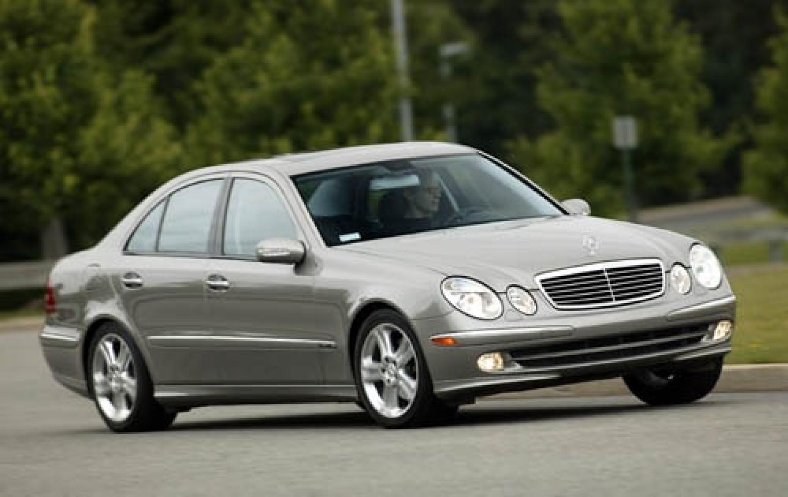 2005 mercedes benz e class information and photos zombiedrive. Black Bedroom Furniture Sets. Home Design Ideas