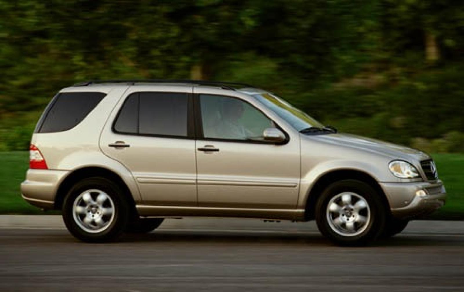 2005 mercedes benz m class information and photos for Mercedes benz m class mercedes suv