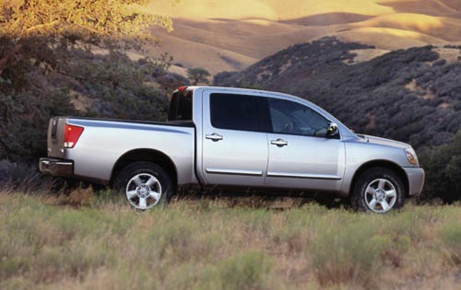 2006 nissan titan information and photos zombiedrive. Black Bedroom Furniture Sets. Home Design Ideas