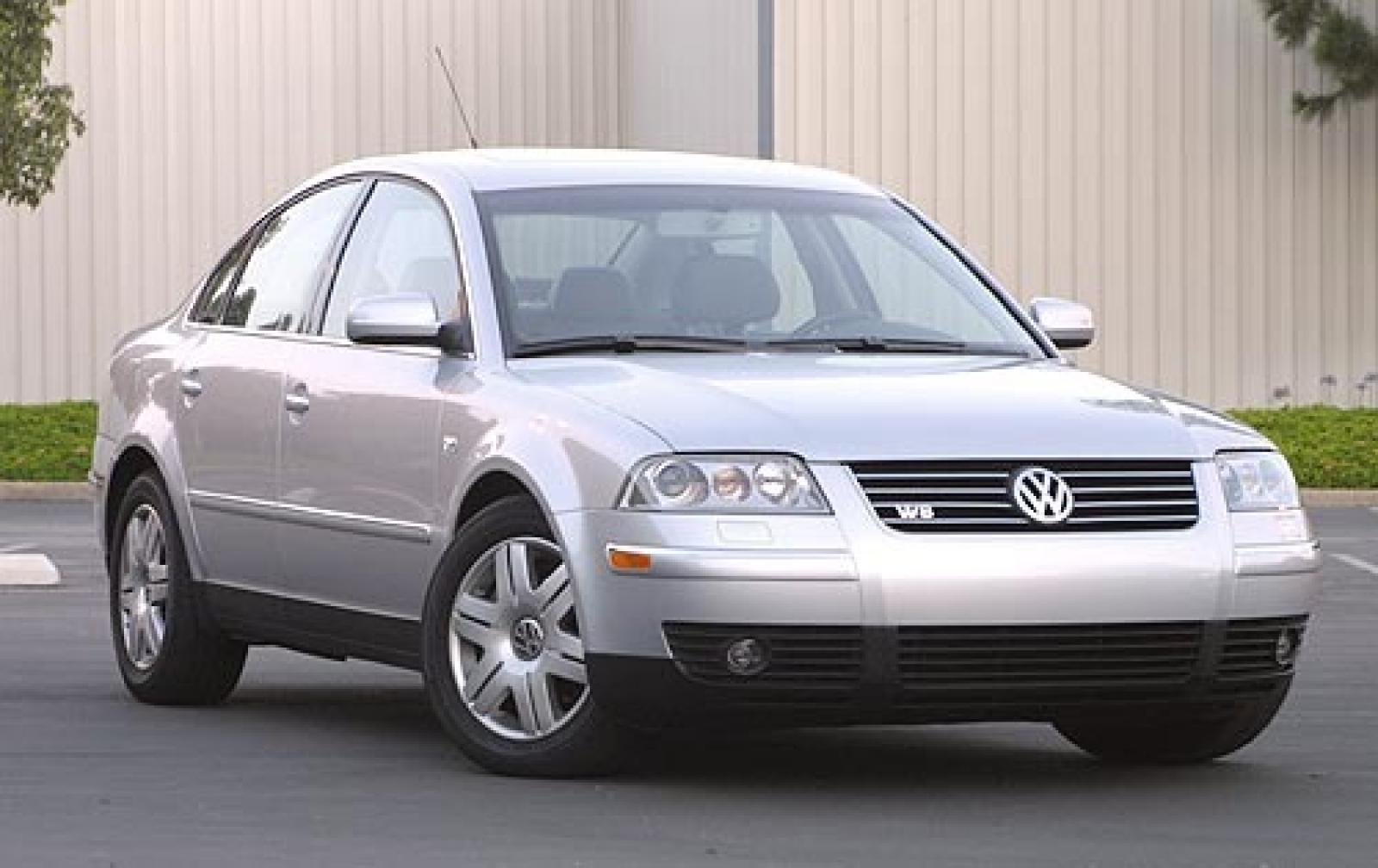 2004 volkswagen passat information and photos zombiedrive. Black Bedroom Furniture Sets. Home Design Ideas