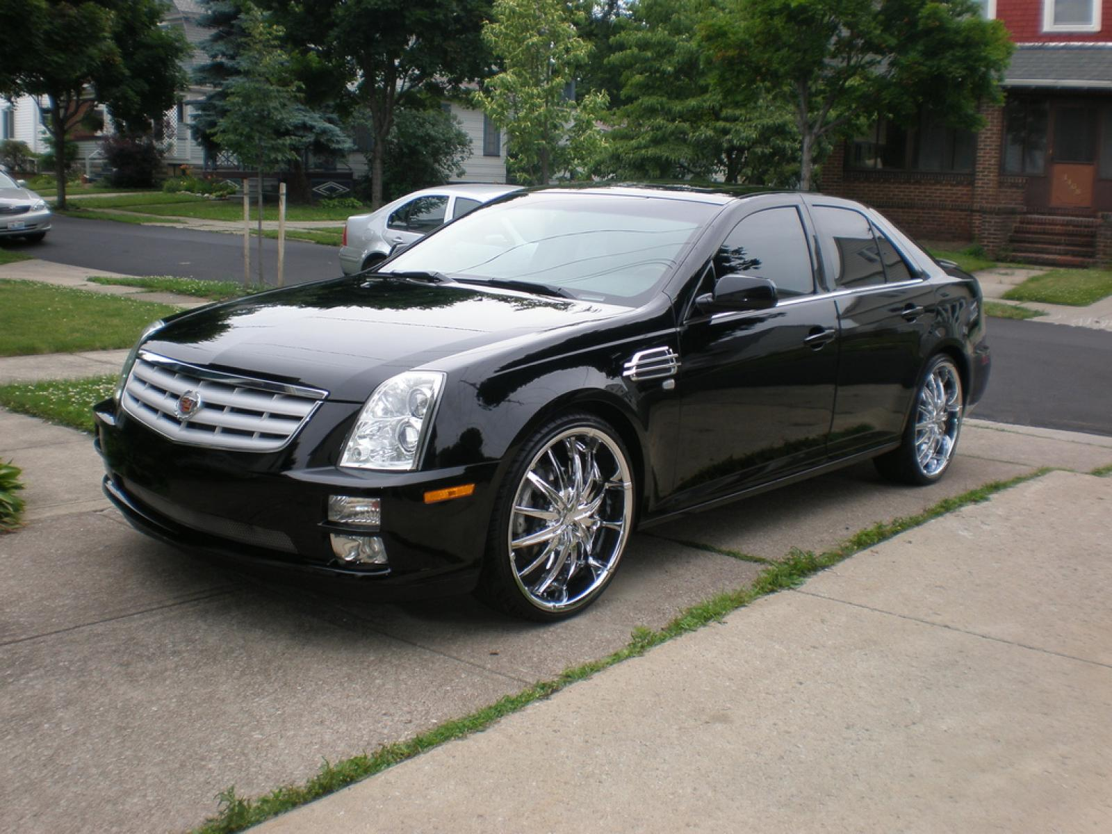 2005 cadillac sts information and photos zombiedrive. Black Bedroom Furniture Sets. Home Design Ideas