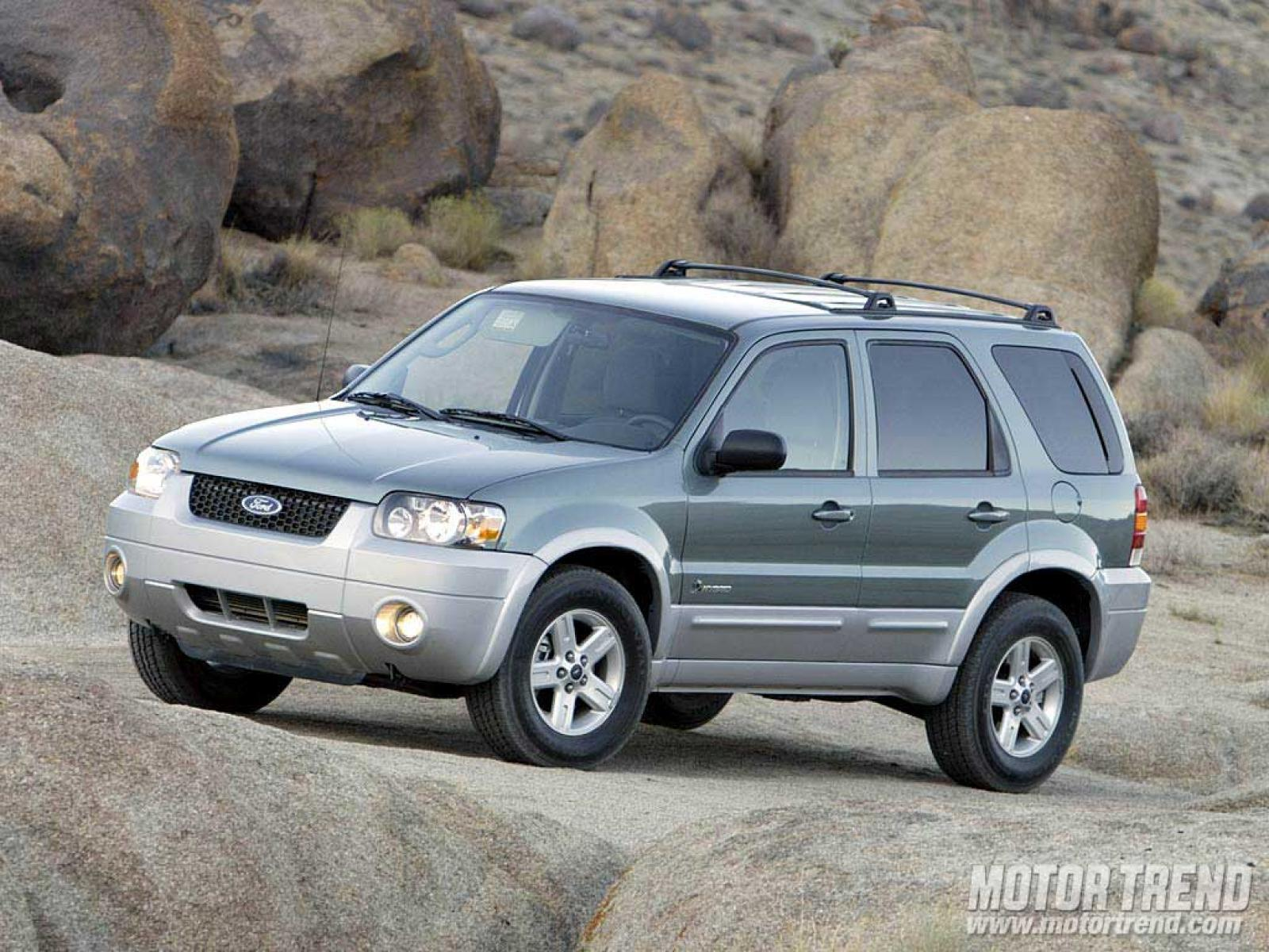 2005 Ford Escape Information And Photos Zombiedrive