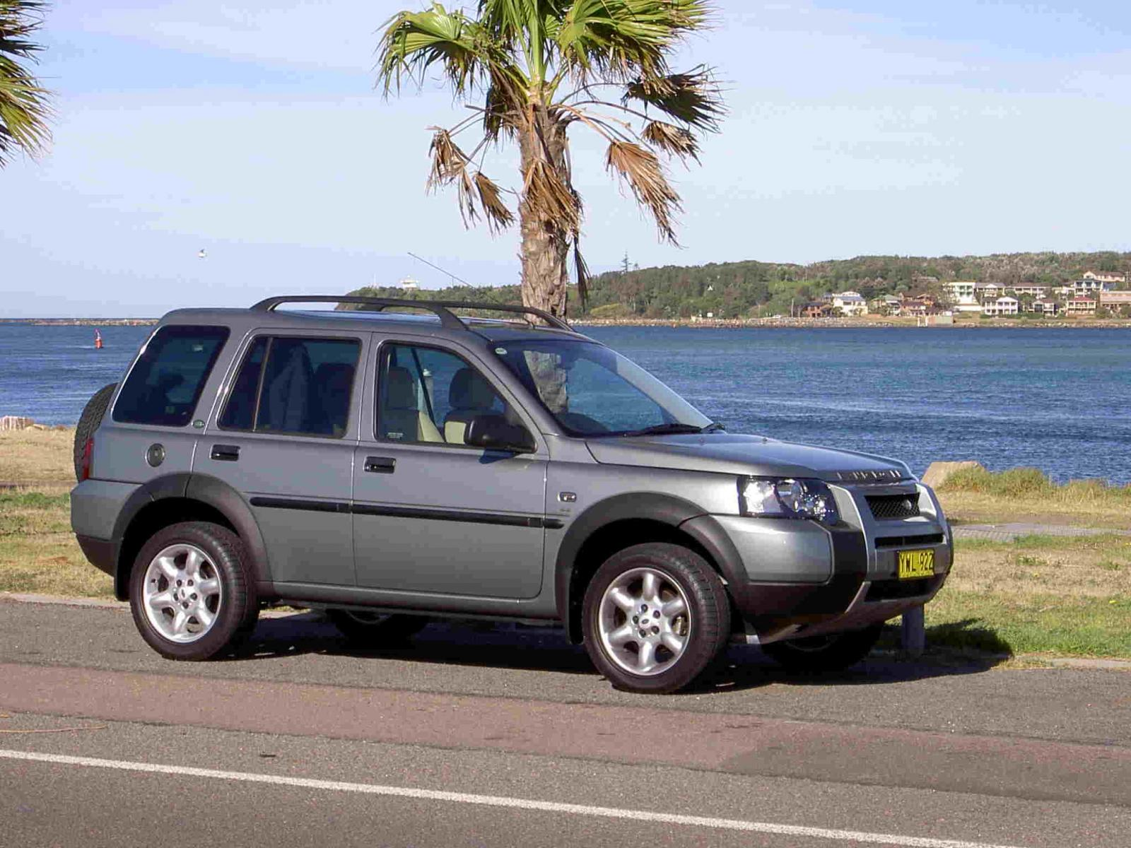 2005 land rover freelander information and photos zombiedrive. Black Bedroom Furniture Sets. Home Design Ideas