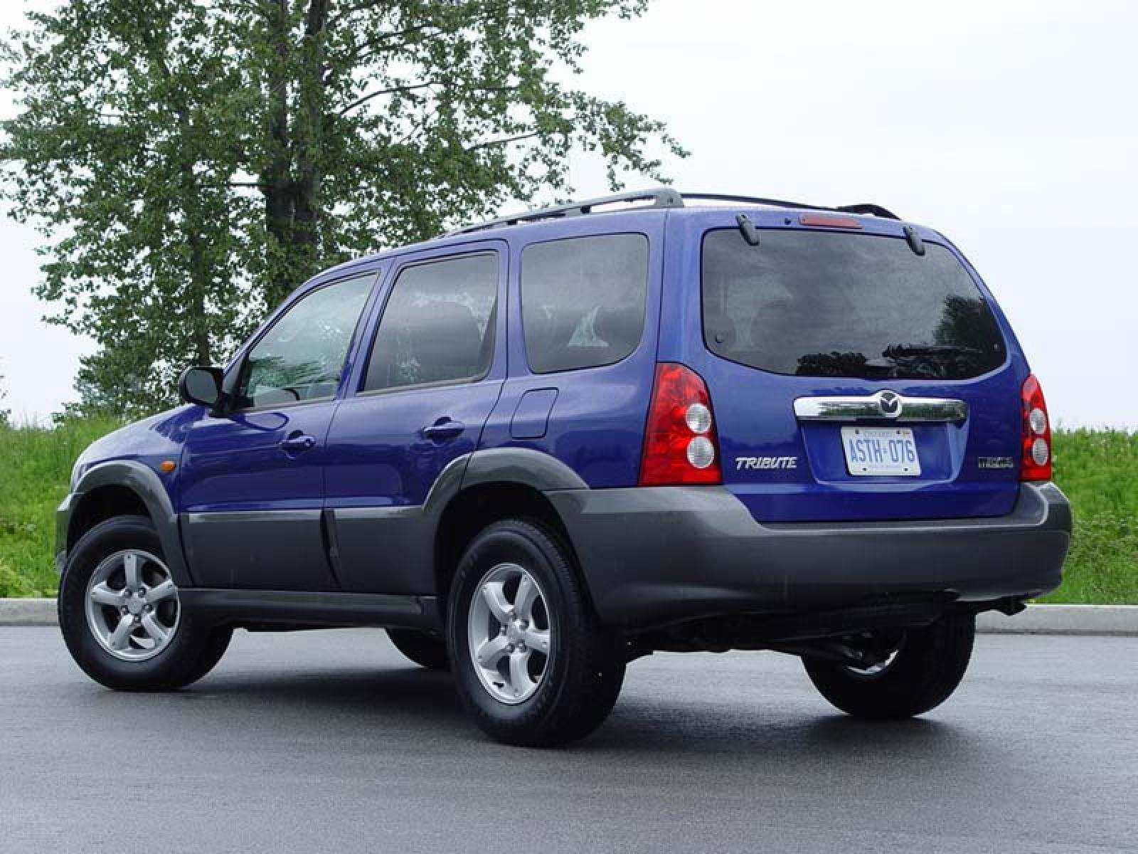 2005 mazda tribute information and photos zombiedrive. Black Bedroom Furniture Sets. Home Design Ideas