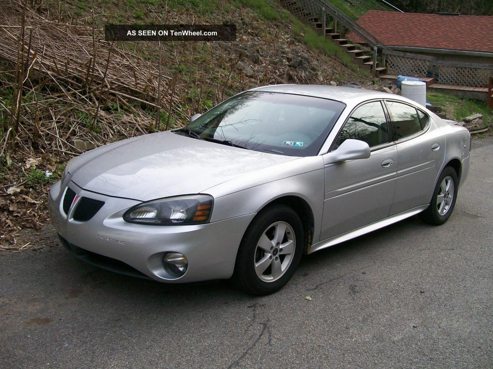 2005 Pontiac Grand Prix Information And Photos Zombiedrive 1995 Kia Sephia Engine Diagram