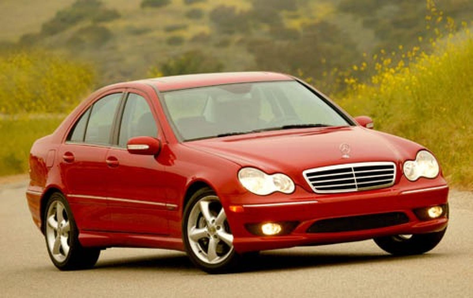 2005 mercedes benz c class information and photos zomb. Black Bedroom Furniture Sets. Home Design Ideas