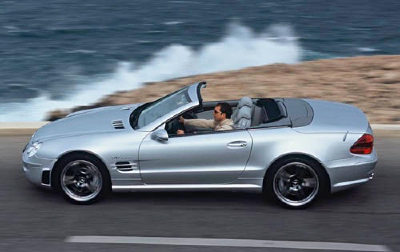 Mercedes Benz mercedes benz sl55 : 2006 Mercedes-Benz SL-Class - Information and photos - ZombieDrive