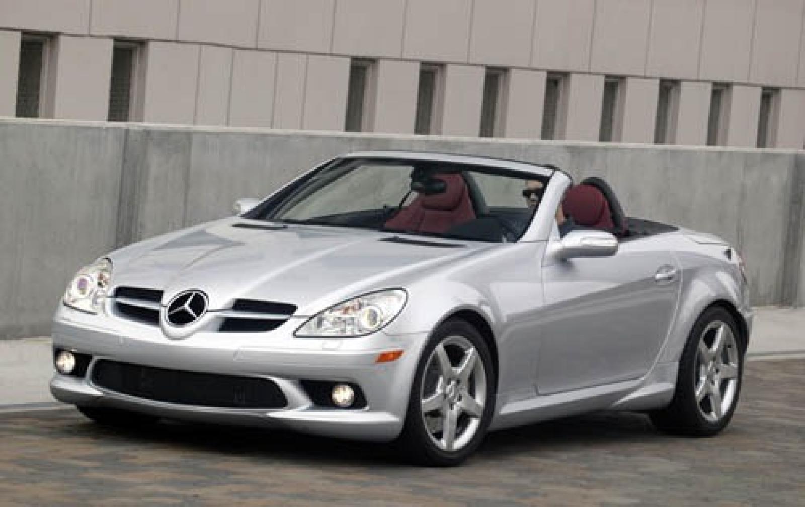 2005 mercedes benz slk class information and photos for Mercedes benz slk350