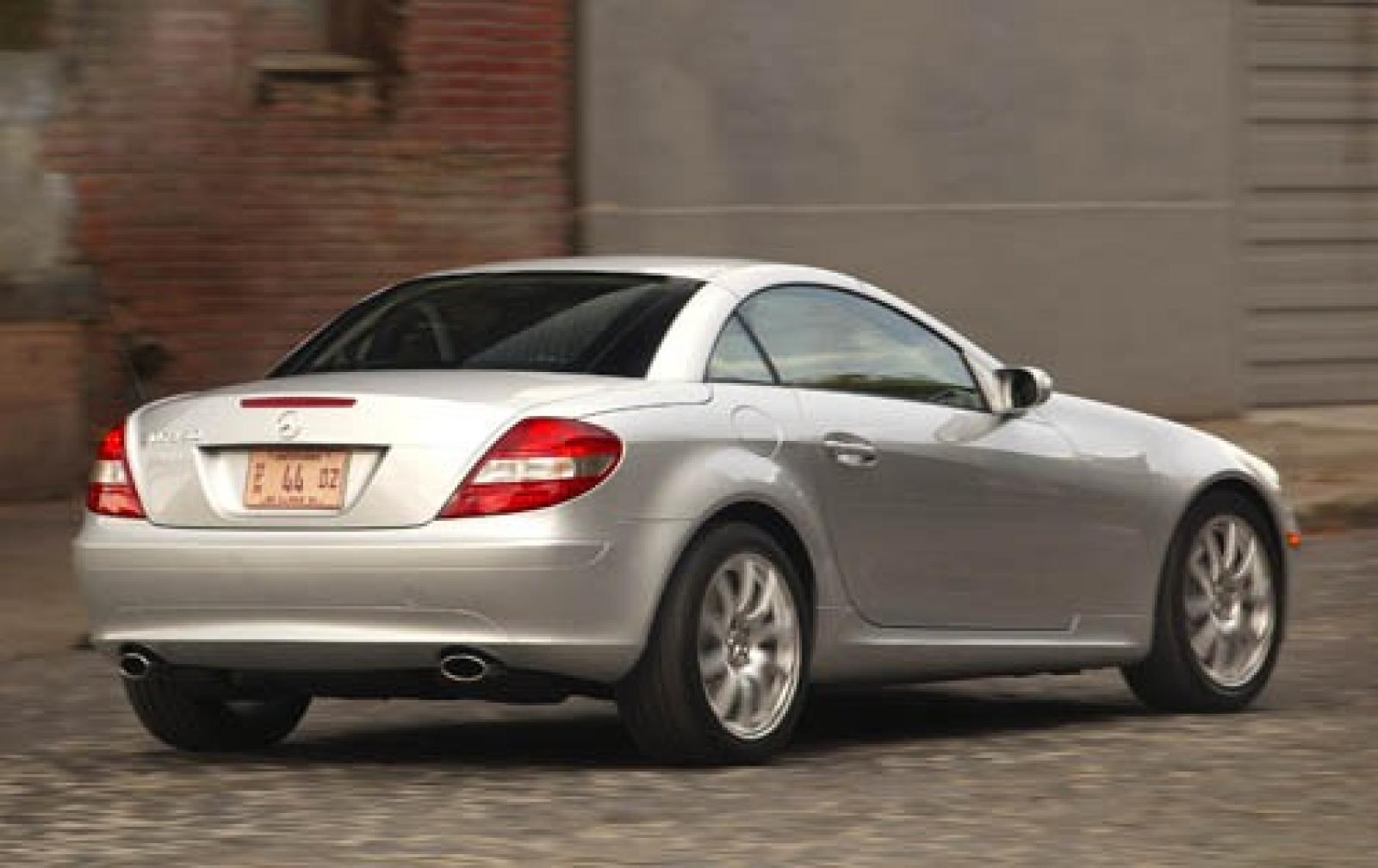 2005 mercedes benz slk class information and photos. Black Bedroom Furniture Sets. Home Design Ideas