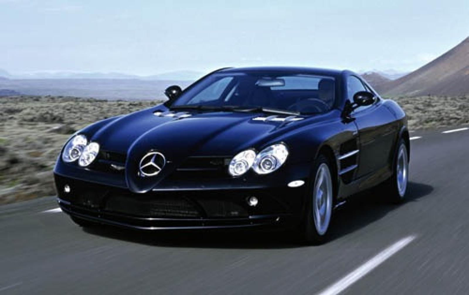 2005 mercedes benz slr mclaren information and photos for Mercedes benz coupe 2005