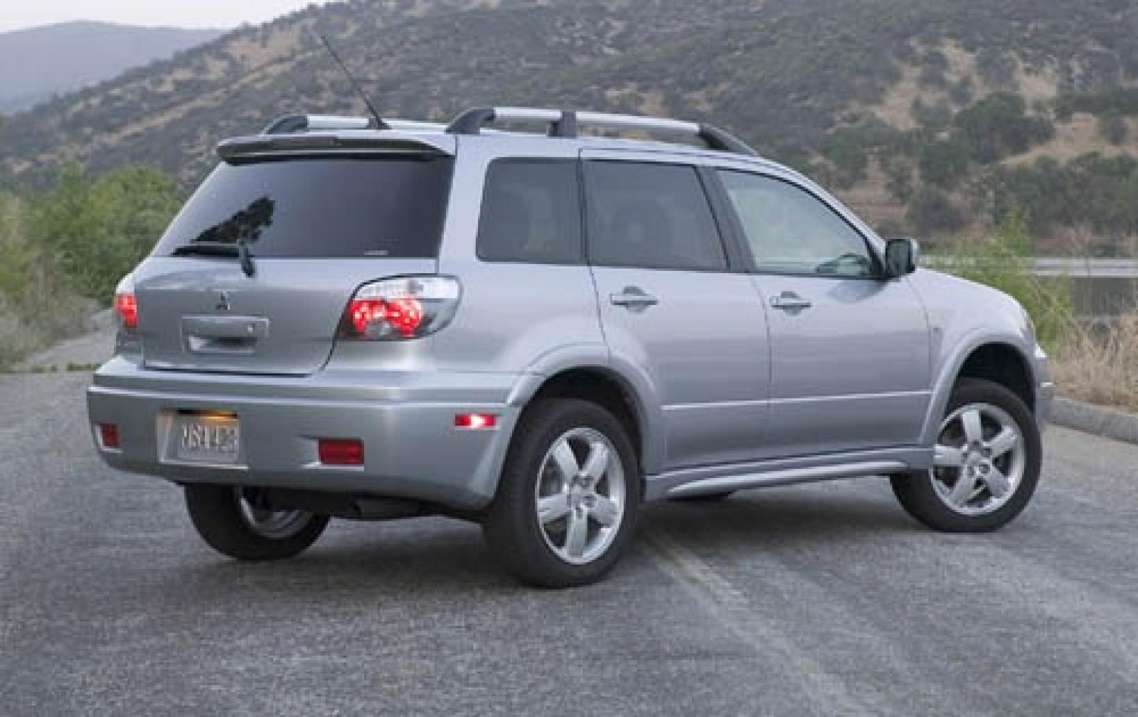 2005 Mitsubishi Outlander - Information and photos - ZombieDrive