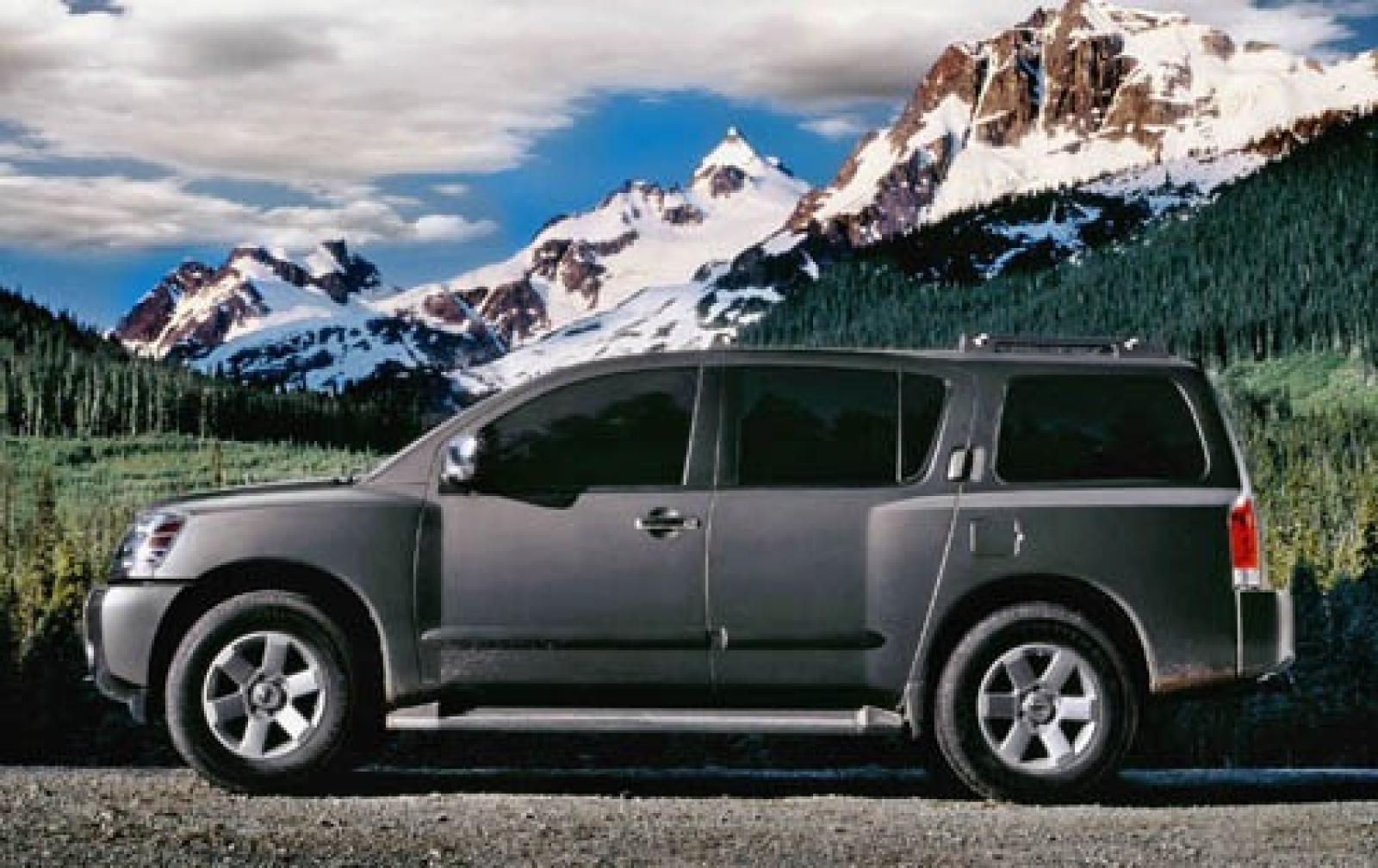 2005 nissan armada - information and photos - zombiedrive