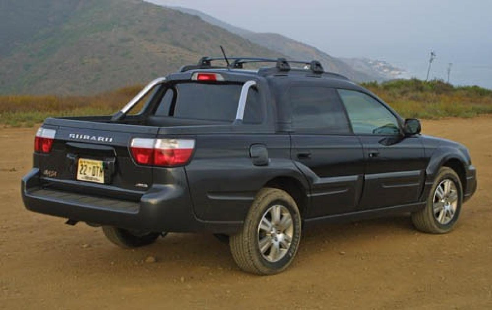 2006 subaru baja information and photos zombiedrive. Black Bedroom Furniture Sets. Home Design Ideas