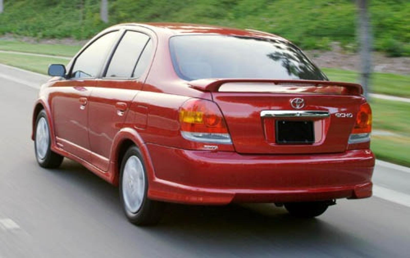 2005 toyota echo information and photos zombiedrive. Black Bedroom Furniture Sets. Home Design Ideas