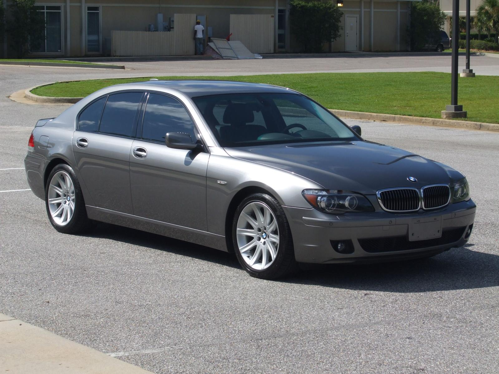 2006 bmw 7 series information and photos zombiedrive. Black Bedroom Furniture Sets. Home Design Ideas