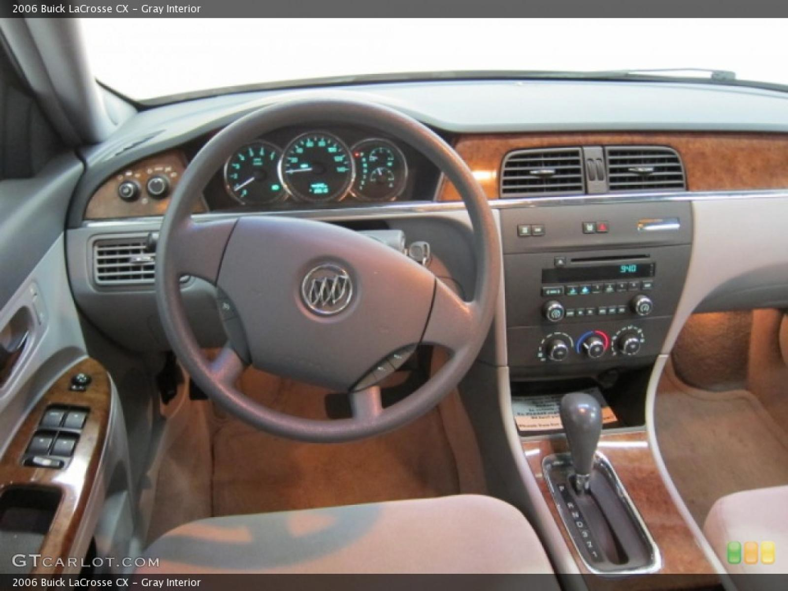 2006 buick lacrosse information and photos zombiedrive. Black Bedroom Furniture Sets. Home Design Ideas