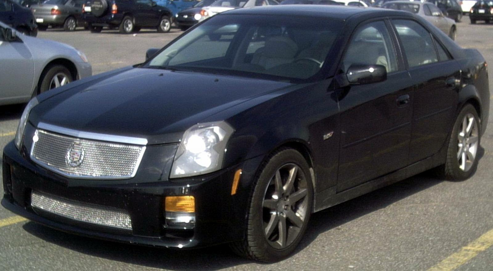 2006 Cadillac CTSV  Information and photos  ZombieDrive