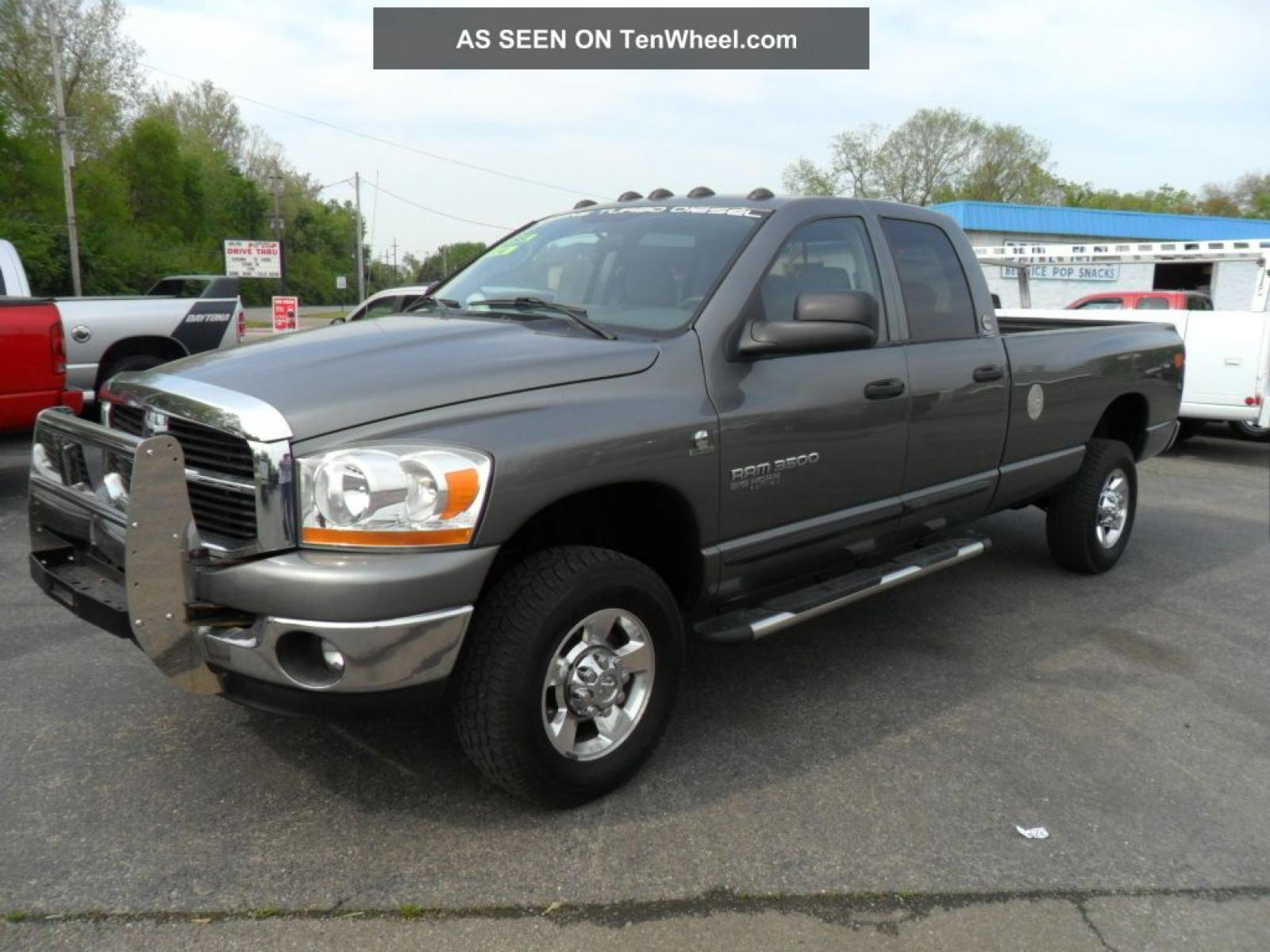 2006 Dodge Ram Pickup 3500 Information and photos ZombieDrive