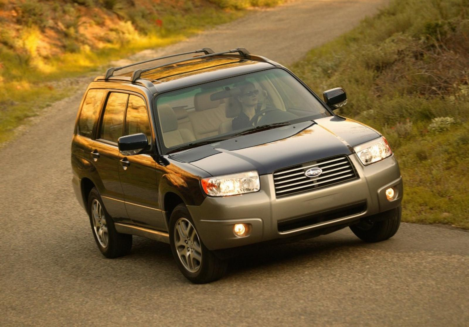 2006 subaru forester information and photos zombiedrive. Black Bedroom Furniture Sets. Home Design Ideas
