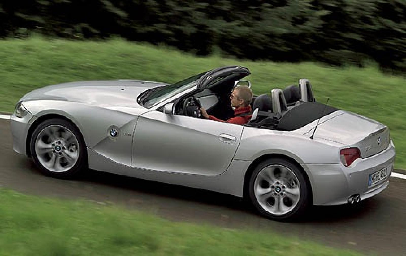 2006 bmw z4 information and photos zombiedrive. Black Bedroom Furniture Sets. Home Design Ideas