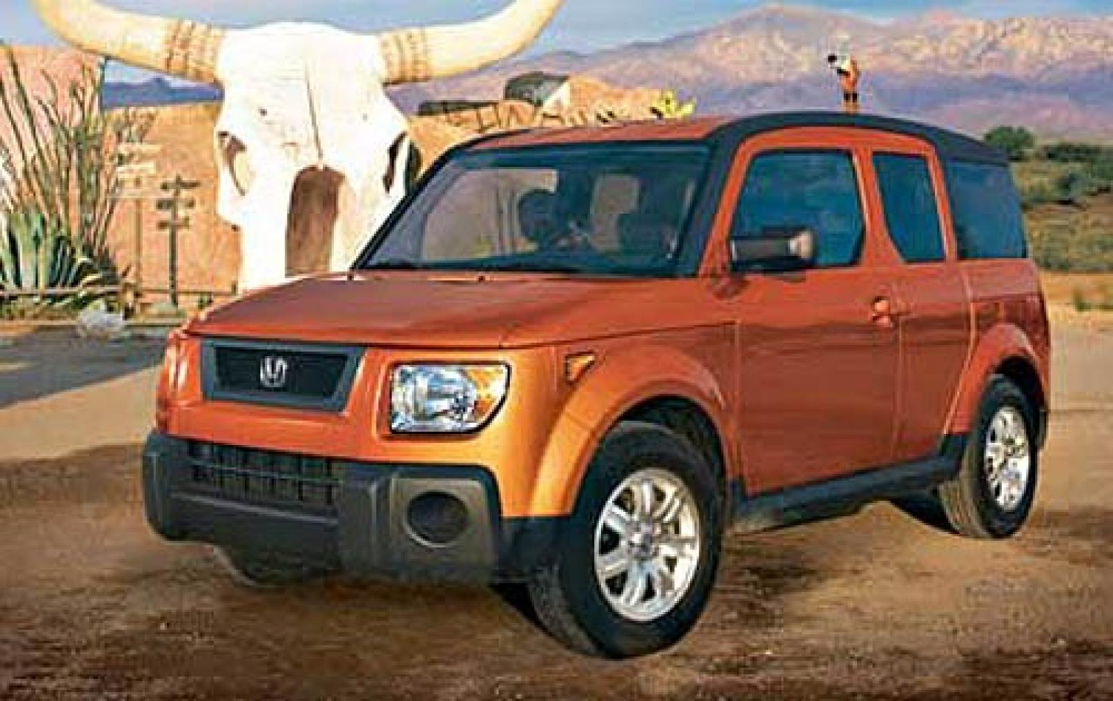 2006 honda element information and photos zombiedrive. Black Bedroom Furniture Sets. Home Design Ideas