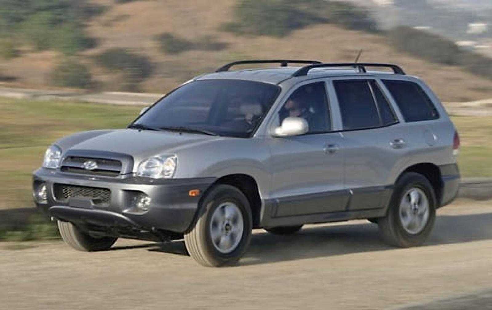 2006 hyundai santa fe information and photos zombiedrive. Black Bedroom Furniture Sets. Home Design Ideas