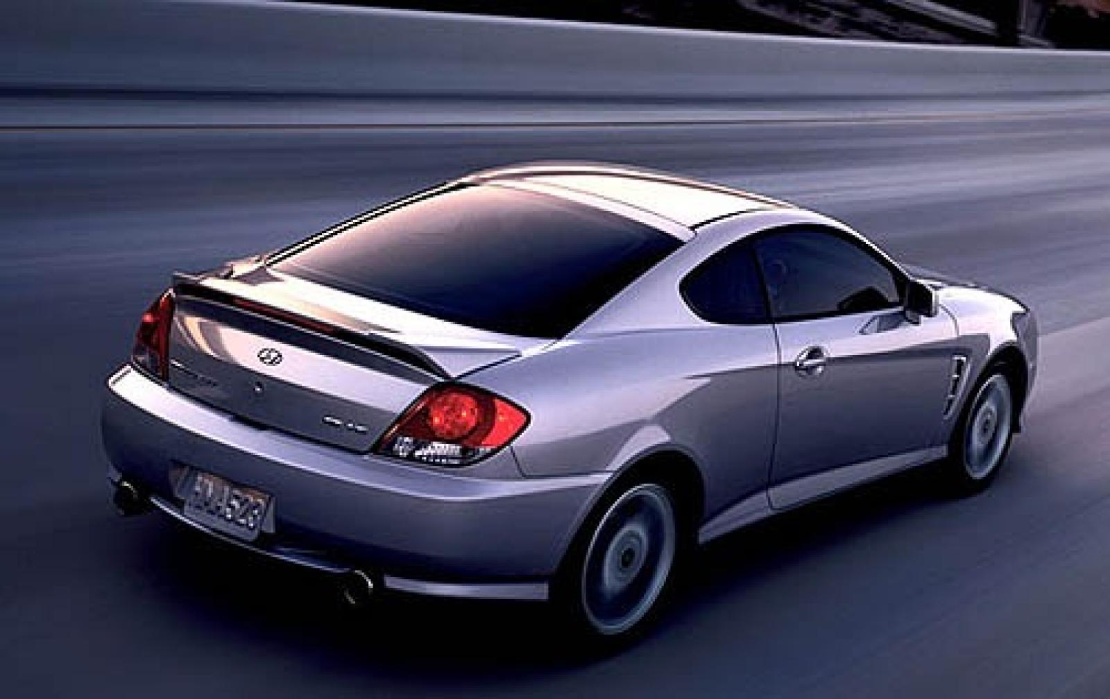 2006 Hyundai Tiburon - Information and photos - ZombieDrive
