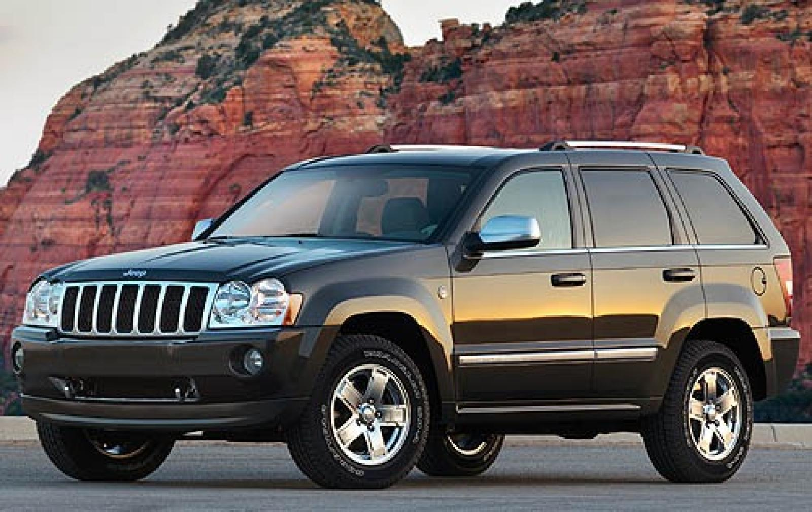 2006 jeep grand cherokee information and photos. Black Bedroom Furniture Sets. Home Design Ideas