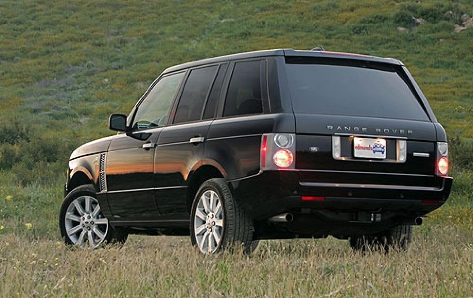 2006 land rover range rover information and photos zombiedrive. Black Bedroom Furniture Sets. Home Design Ideas