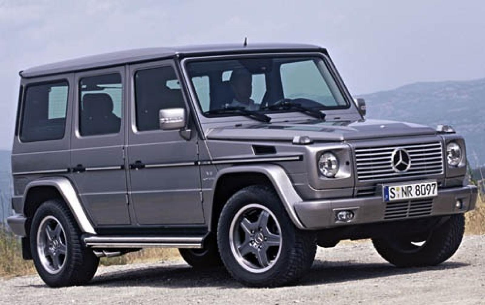 2006 mercedes benz g class information and photos for Mercedes benz g class used 2003