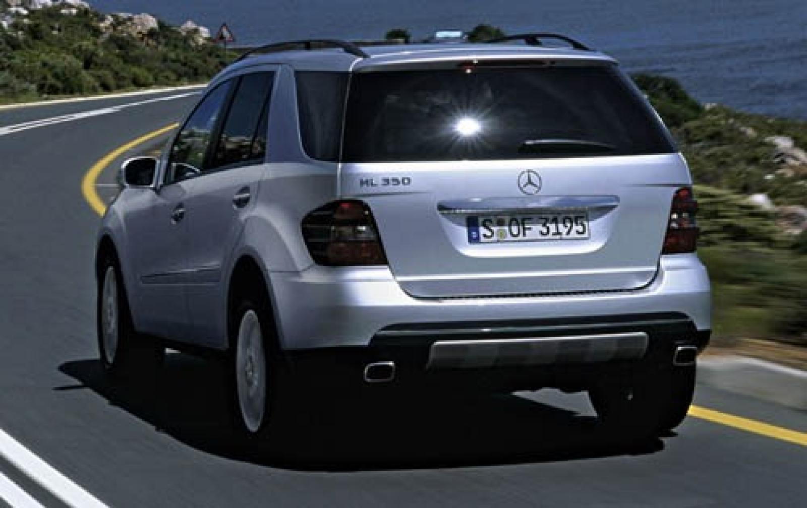 2006 mercedes benz m class information and photos for Mercedes benz m class mercedes suv