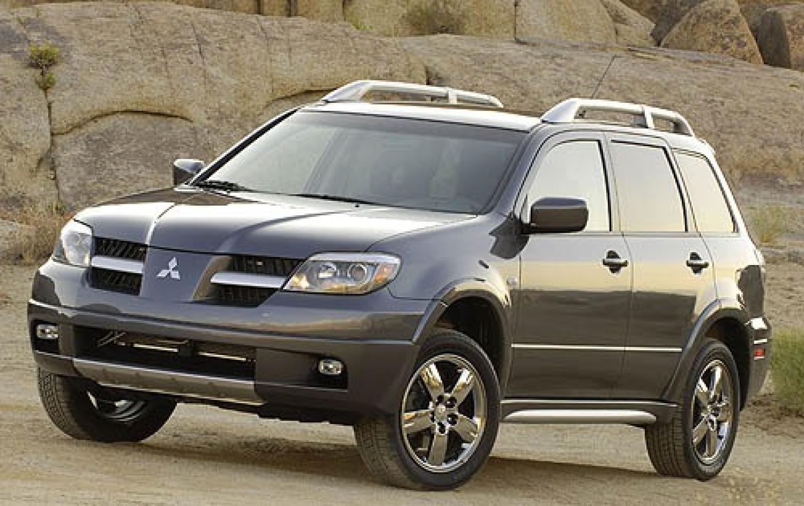 2006 mitsubishi outlander information and photos. Black Bedroom Furniture Sets. Home Design Ideas