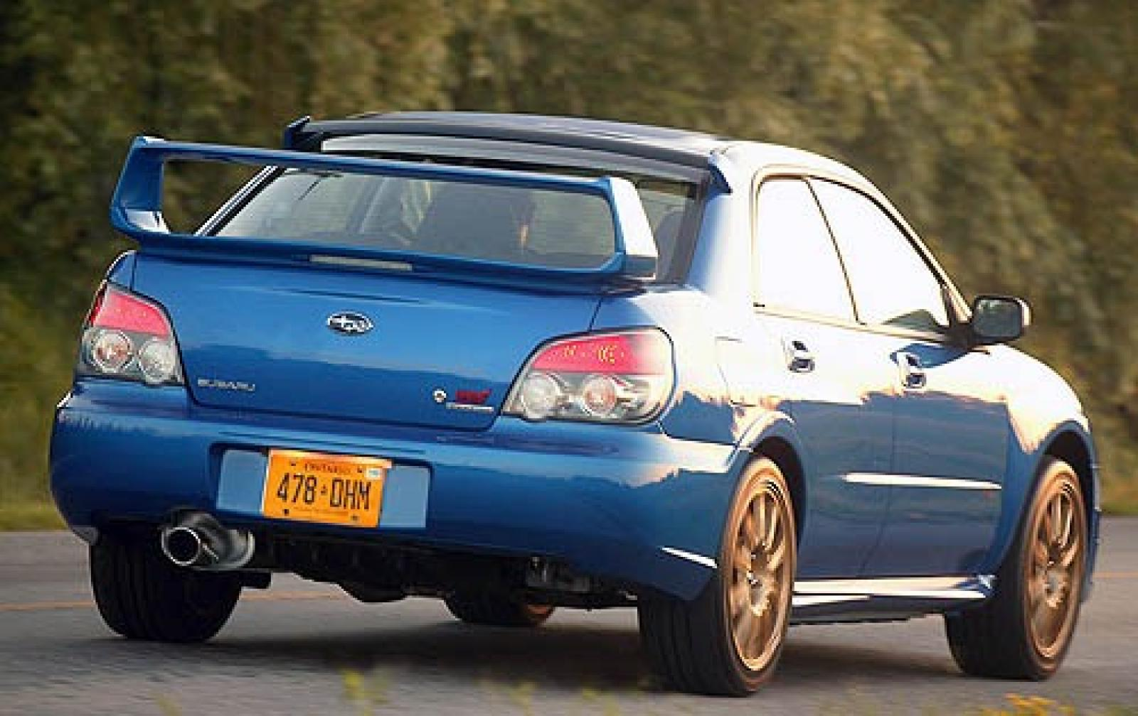 ... 2006 Subaru Impreza WRX L exterior #9 800 1024 1280 1600 origin ...