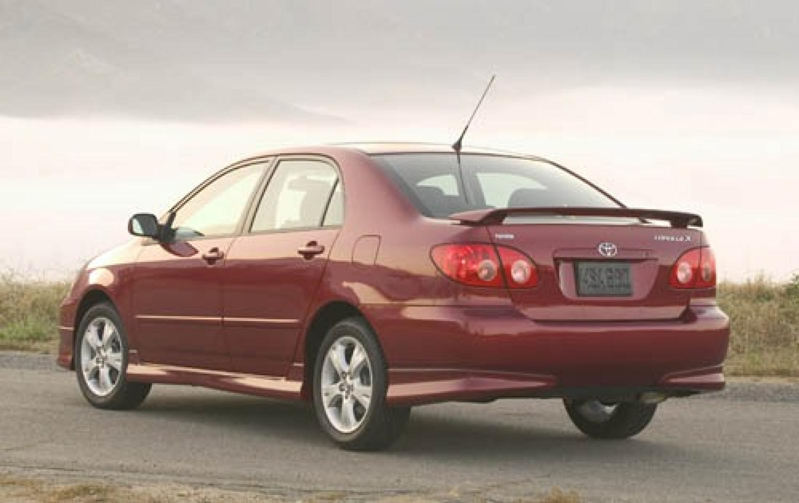 2006 toyota corolla information and photos zombiedrive. Black Bedroom Furniture Sets. Home Design Ideas