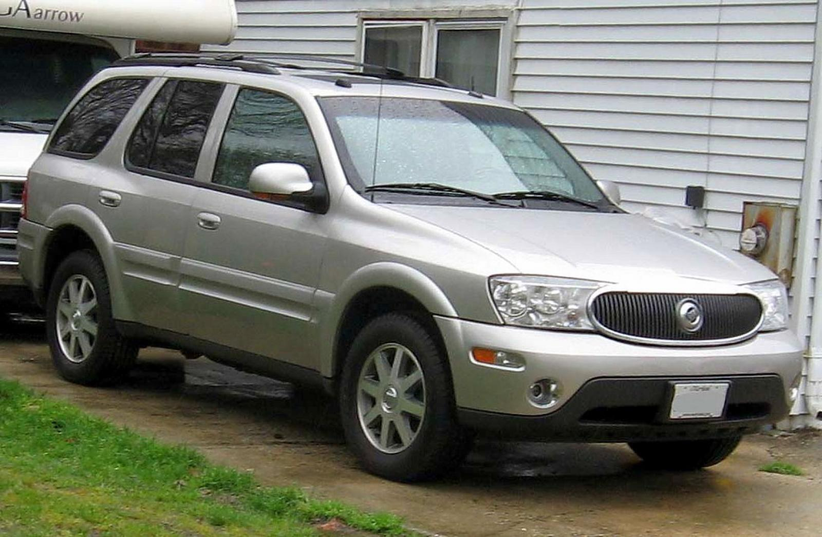 2007 buick rainier information and photos zombiedrive. Black Bedroom Furniture Sets. Home Design Ideas