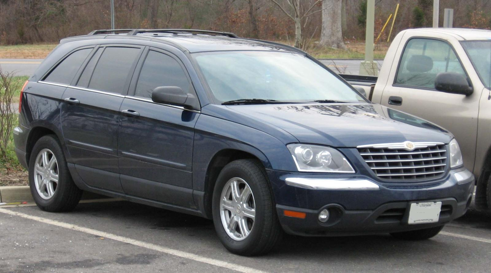 2007 chrysler pacifica information and photos zombiedrive. Black Bedroom Furniture Sets. Home Design Ideas