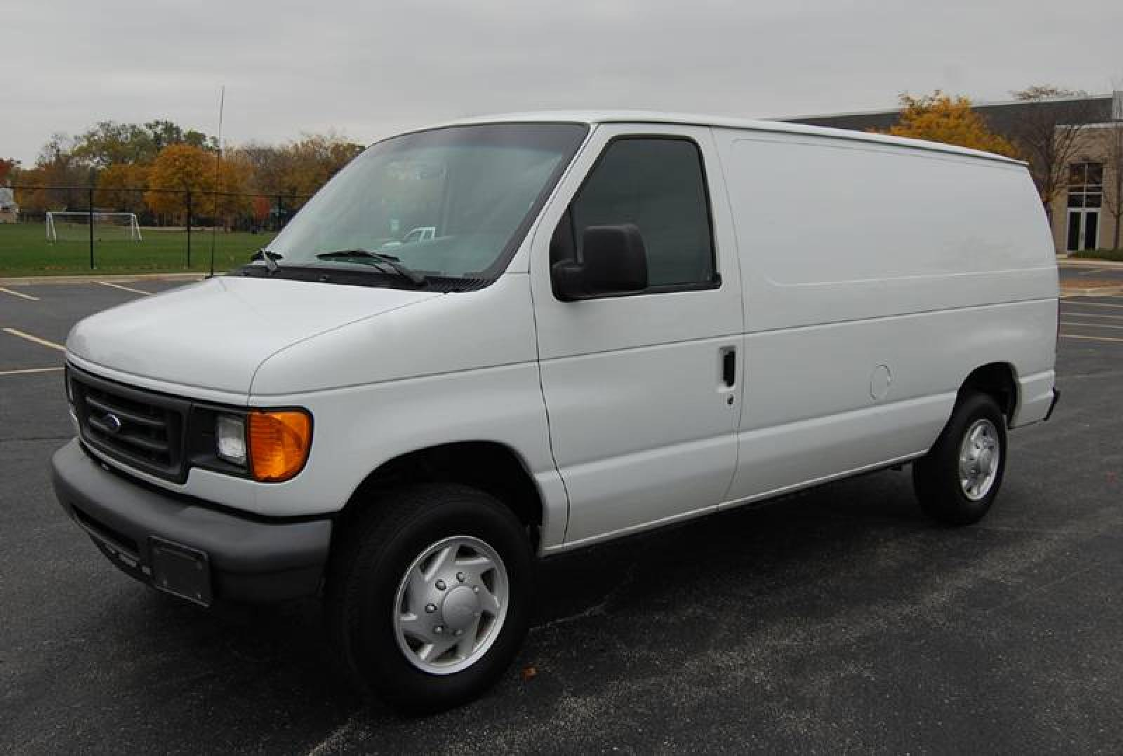 2007 ford econoline cargo information and photos. Black Bedroom Furniture Sets. Home Design Ideas