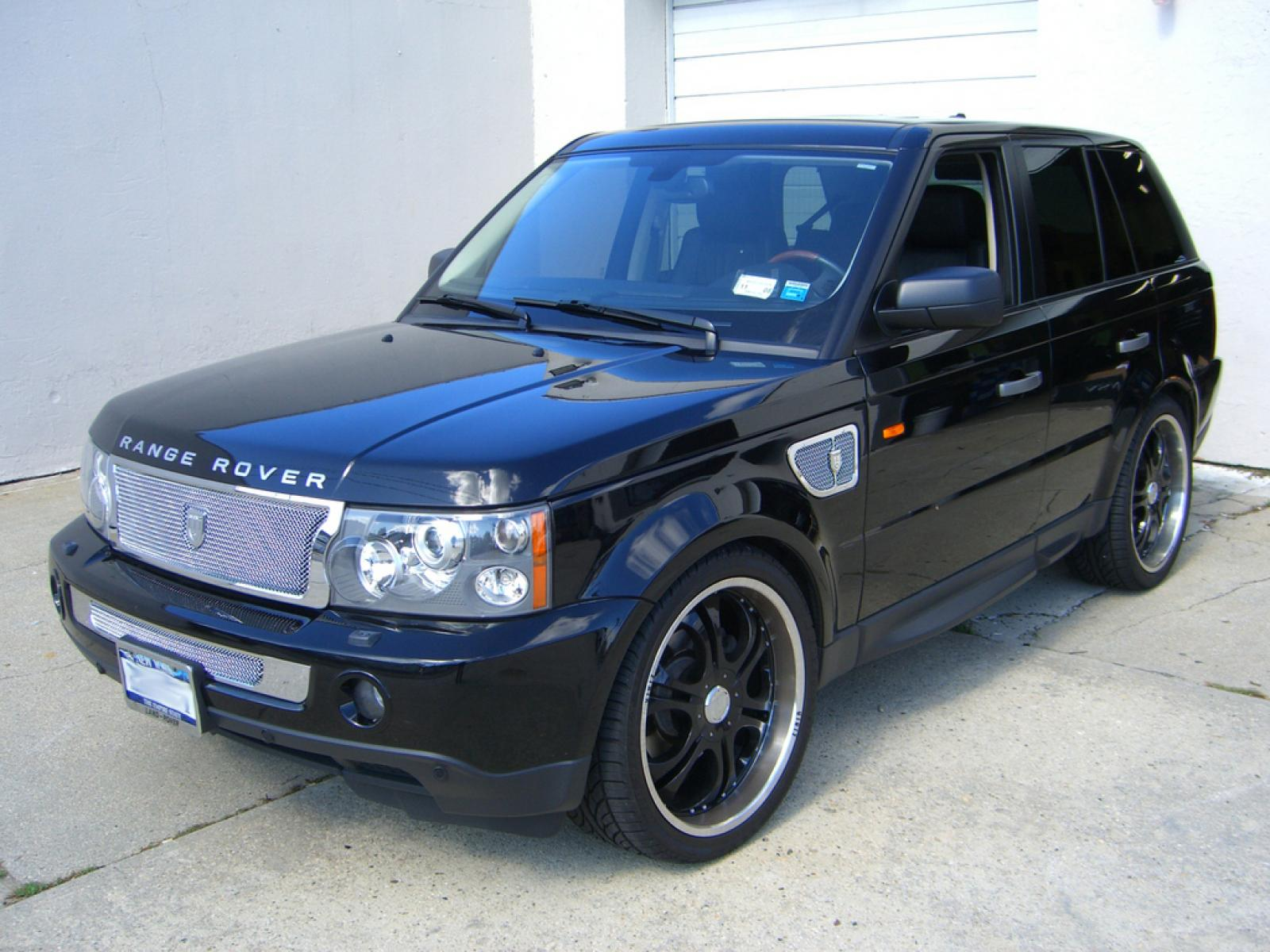 2007 land rover range rover sport information and photos zombiedrive. Black Bedroom Furniture Sets. Home Design Ideas