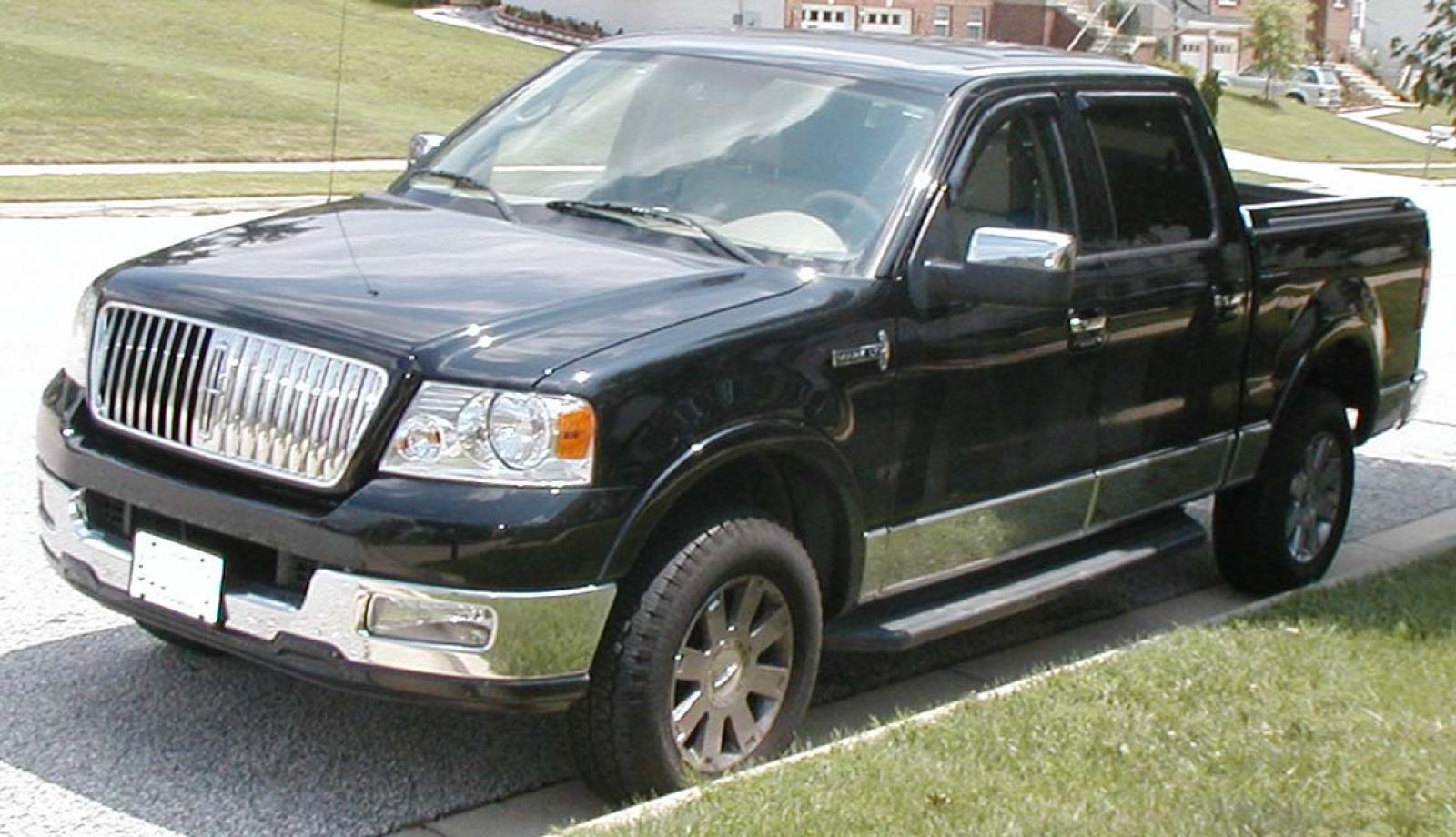 2007 lincoln mark lt information and photos zombiedrive. Black Bedroom Furniture Sets. Home Design Ideas