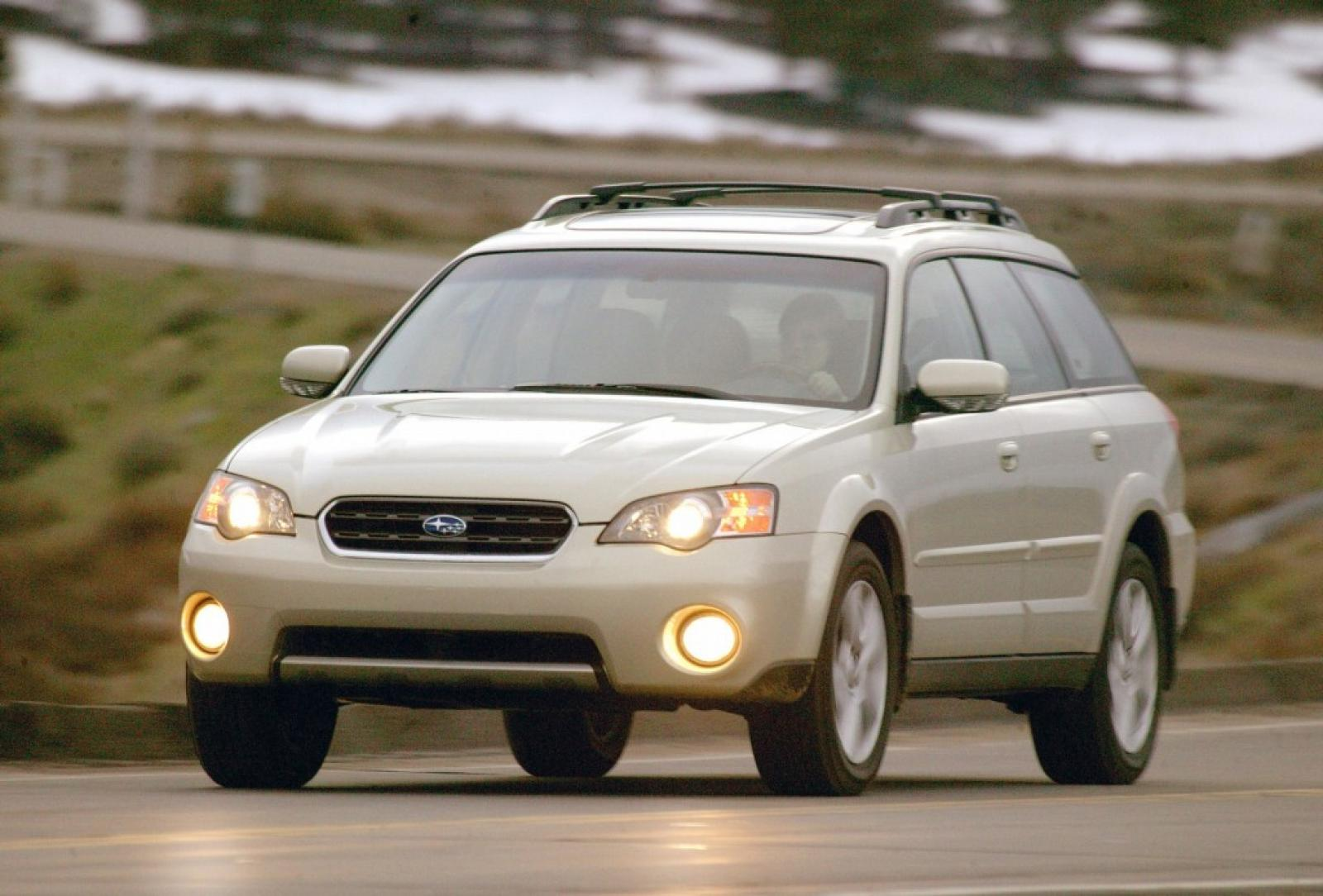 2007 Subaru Outback Information And Photos Zombiedrive