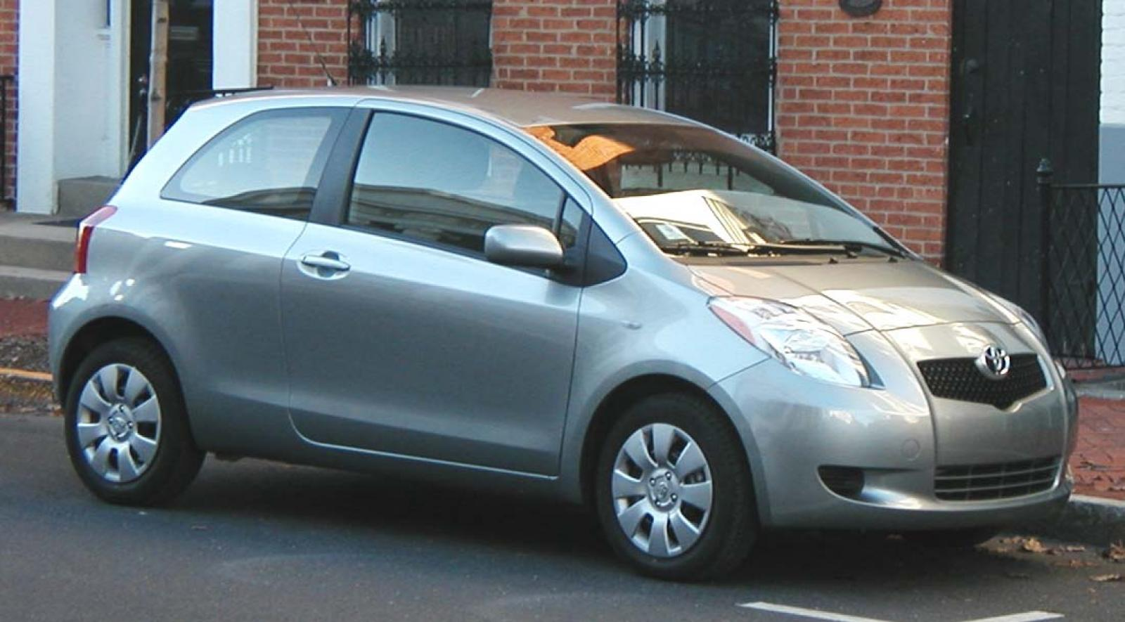 2007 toyota yaris information and photos zombiedrive. Black Bedroom Furniture Sets. Home Design Ideas