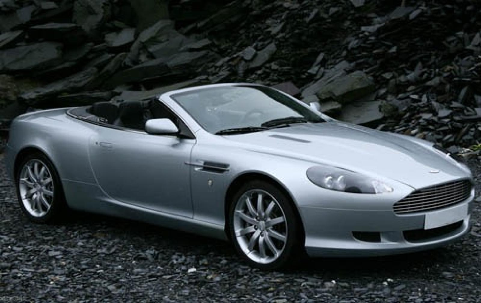 2007 aston martin db9 information and photos zombiedrive. Black Bedroom Furniture Sets. Home Design Ideas