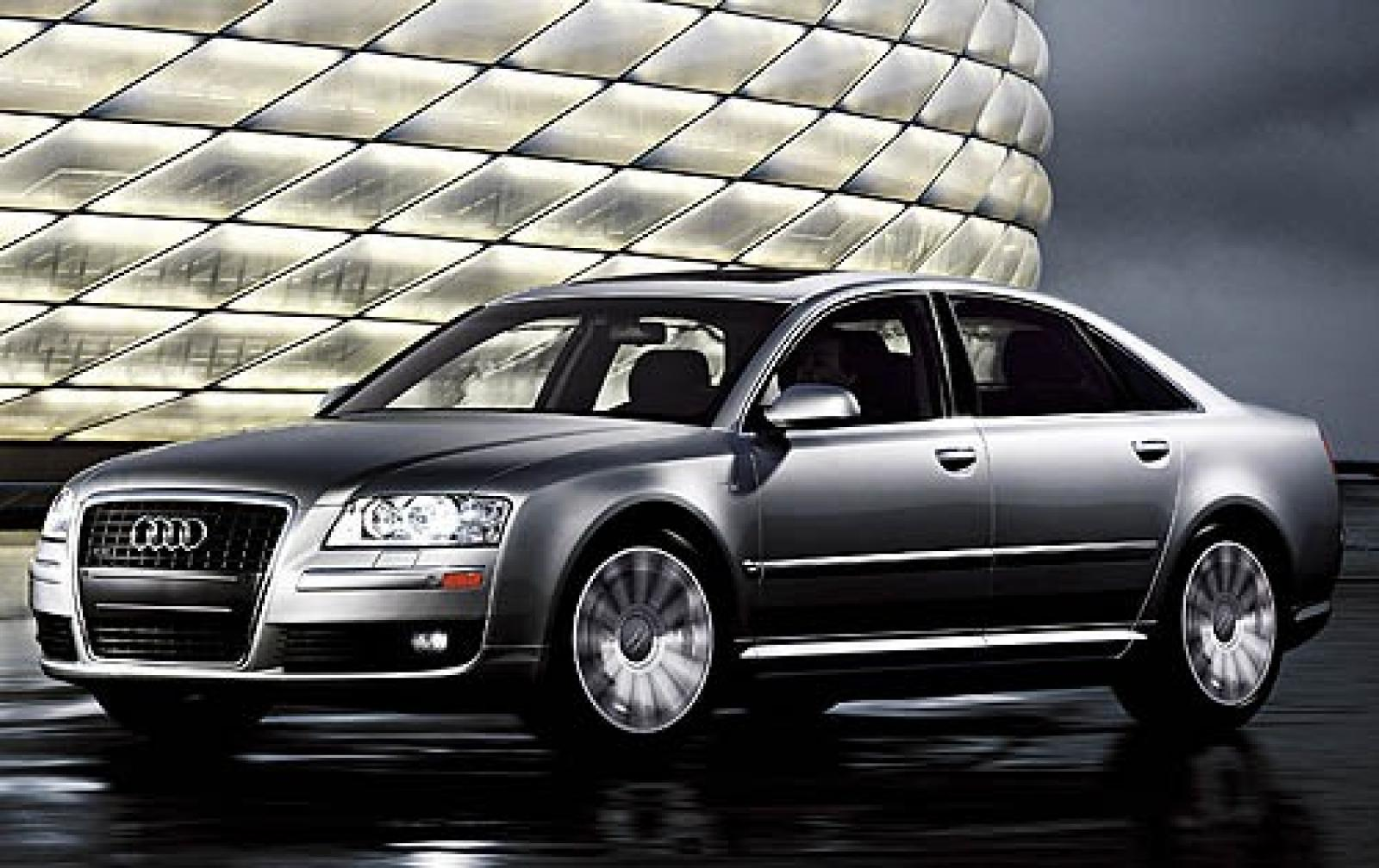 2007 audi a8 information and photos zombiedrive. Black Bedroom Furniture Sets. Home Design Ideas